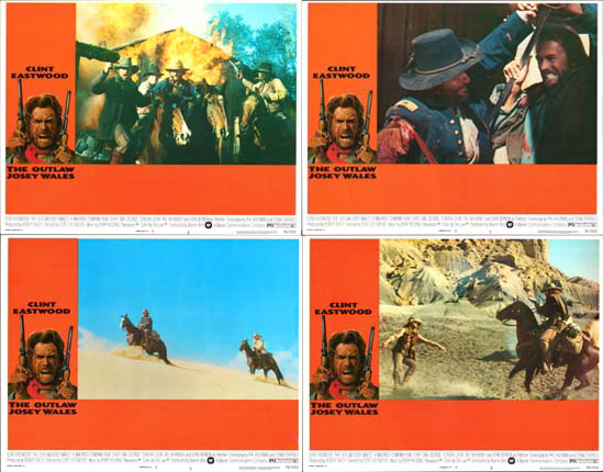 Image 2 of Outlaw Josey Wales, The US Lobby Card Set of 8