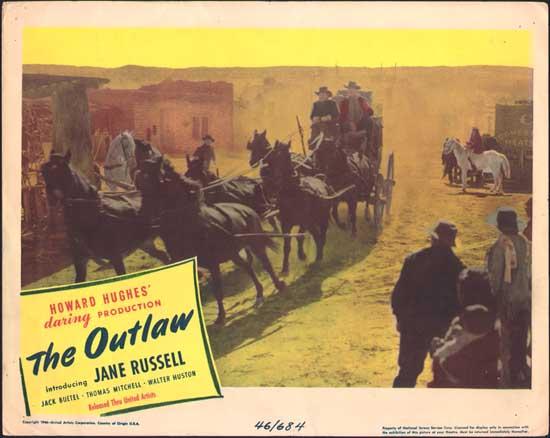 Outlaw, The US Lobby Card