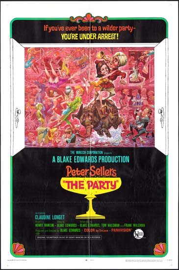 Party, The US One Sheet style B movie poster