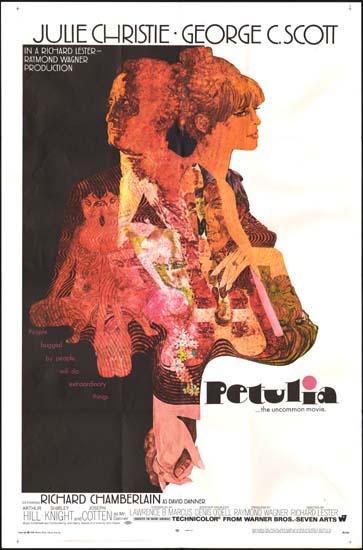 Petulia US One Sheet movie poster