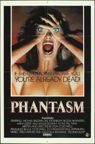 Phantasm US One Sheet international movie poster