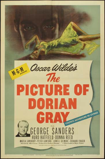 Picture of Dorian Gray, The US One Sheet movie poster