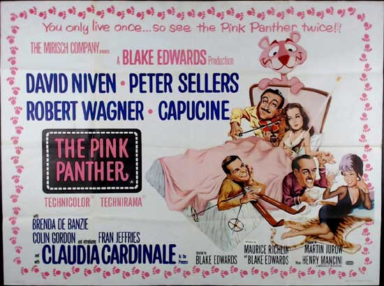 Pink Panther, The UK Quad movie poster