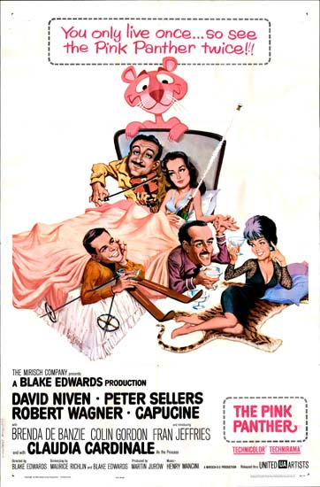 Pink Panther, The US One Sheet movie poster