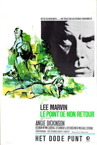 Point Blank Belgian movie poster