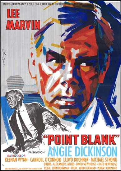 Point Blank German A1 movie poster
