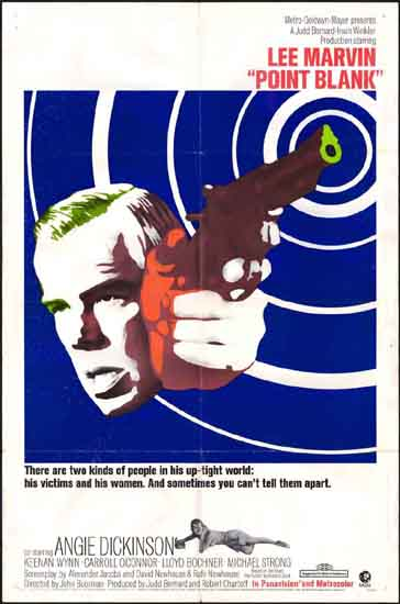 Point Blank US One Sheet movie poster