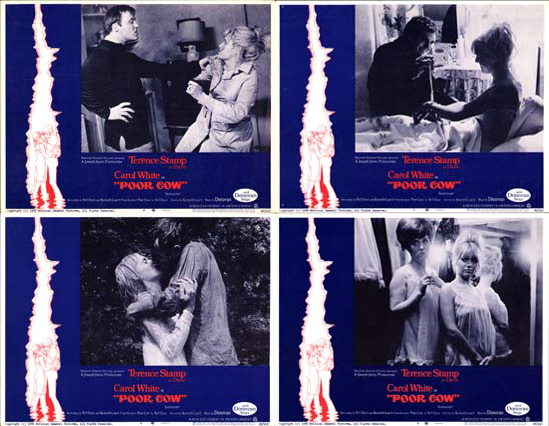 Image 2 of Poor Cow US Lobby Card Set of 8