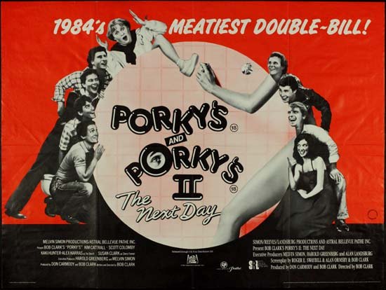 porkys porkys ii the next day original film poster
