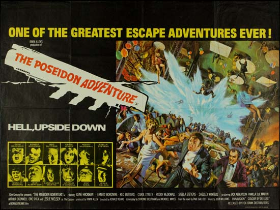 Poseidon Adventure, The UK Quad