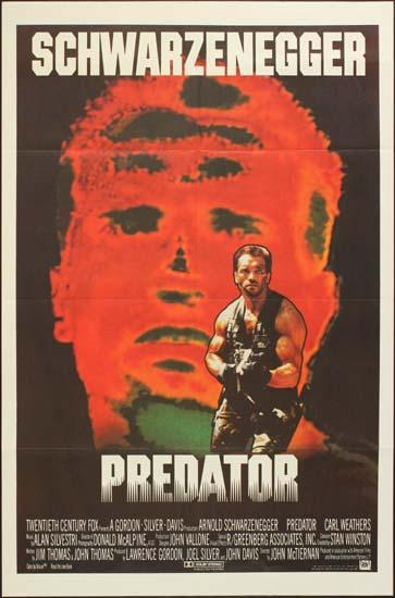 Predator US One Sheet international movie poster