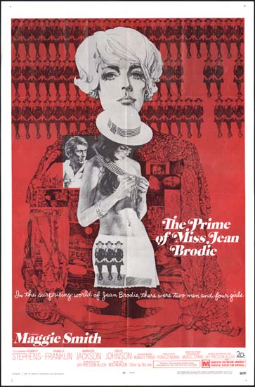 Prime of Miss Jean Brodie, The US One Sheet movie poster