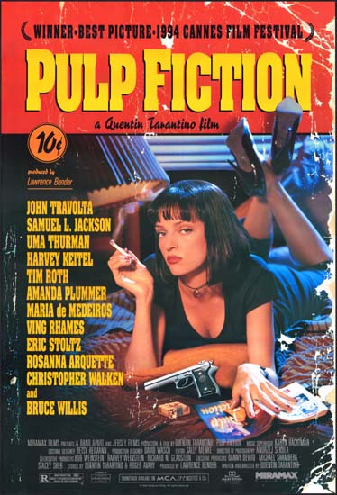Pulp Fiction US One Sheet movie poster