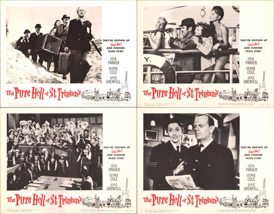 Pure Hell of St Trinians, The US Lobby Card Set of 8
