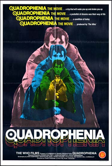 Quadrophenia UK One Sheet movie poster