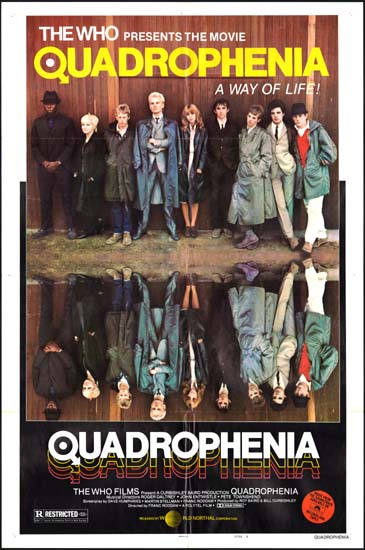 Quadrophenia US One Sheet style B movie poster