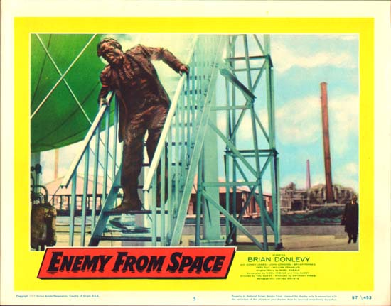 Quatermass II Enemy from Space US Lobby Card number 5