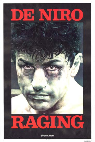 Raging Bull US One Sheet teaser movie poster