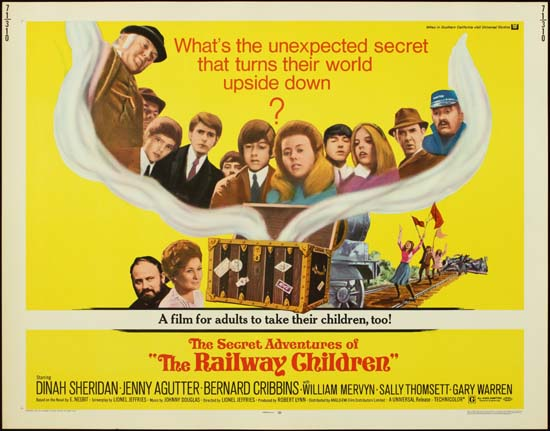 Railway Children, The US Half Sheet movie poster