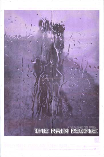 Rain People, The US One Sheet movie poster