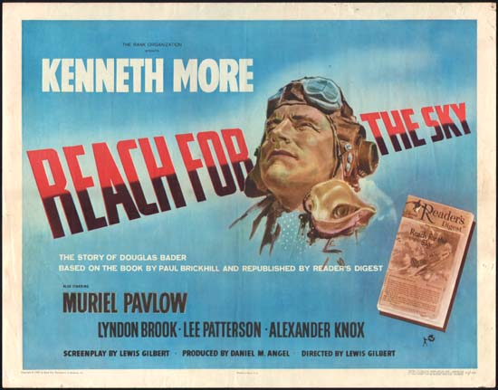 Reach for the Sky US Half Sheet movie poster