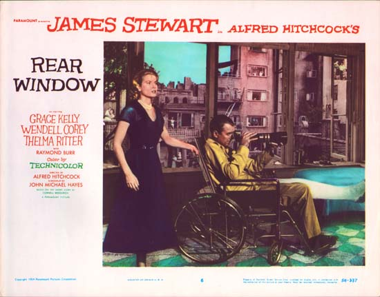 Rear Window US Lobby Card number 6