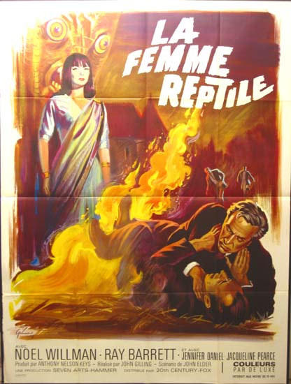 Reptile, The French Grande movie poster