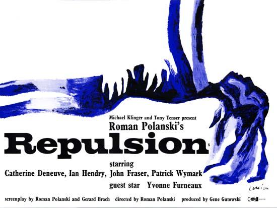 Repulsion UK Quad movie poster