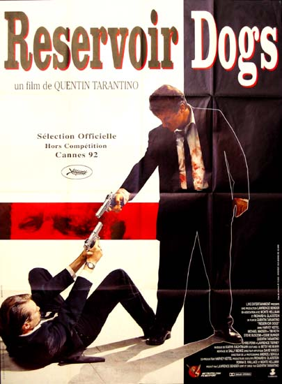 Reservoir Dogs French Grande movie poster