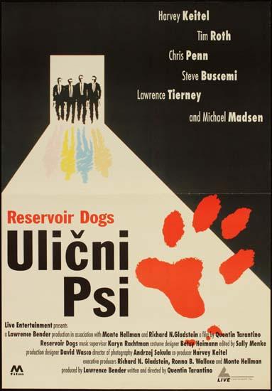 Reservoir Dogs Yugoslavian movie poster