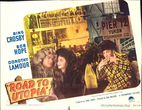 Road to Utopia US Lobby Card number 3