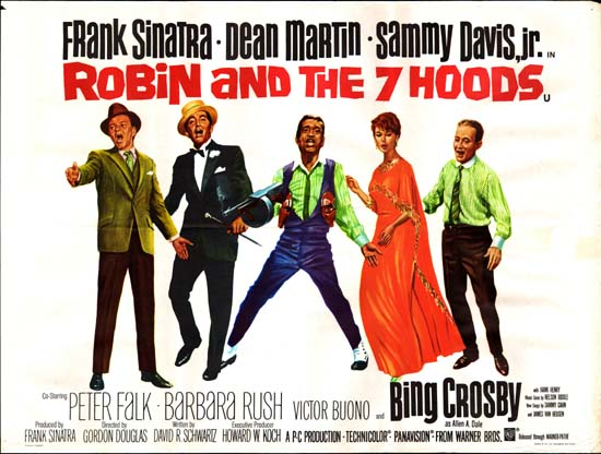 Robin and the 7 Hoods UK Quad movie poster
