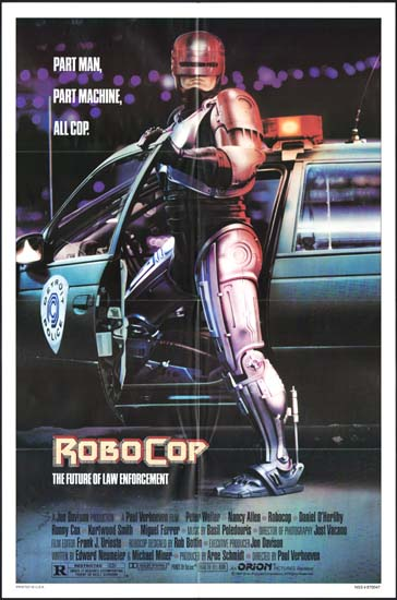 Robocop US One Sheet movie poster