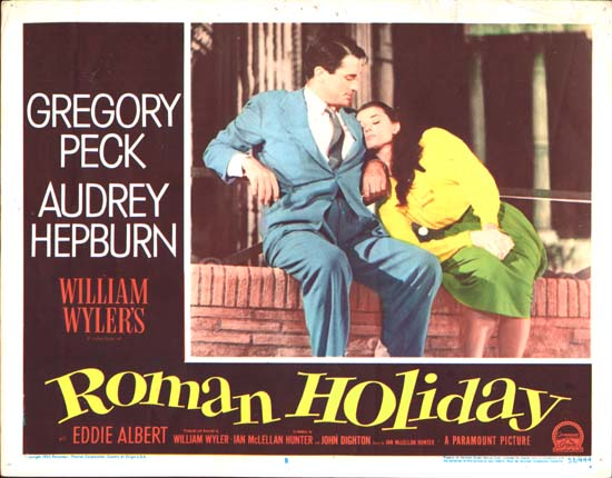 Roman Holiday US Lobby Card number 8