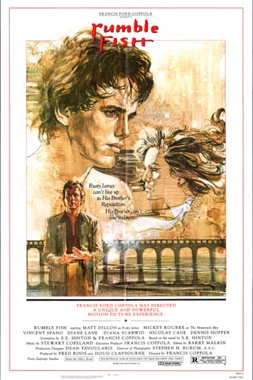 Rumble Fish US One Sheet movie poster