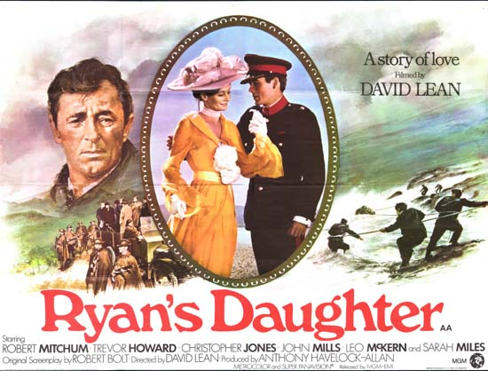Ryans Daughter UK Quad movie poster