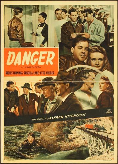Saboteur Italian Photobusta movie poster