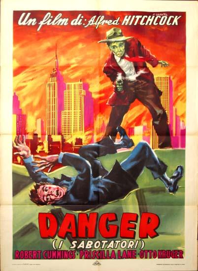 Saboteur Italian Due Fogli movie poster