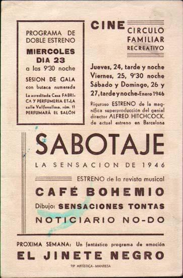 Image 2 of Saboteur Spanish Herald