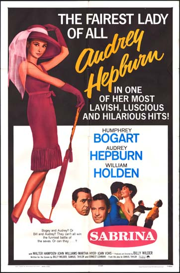 Sabrina US One Sheet movie poster