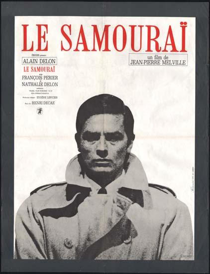 Samourai, Le [ The Godson ] French movie poster