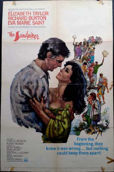 Sandpiper, The US One Sheet movie poster
