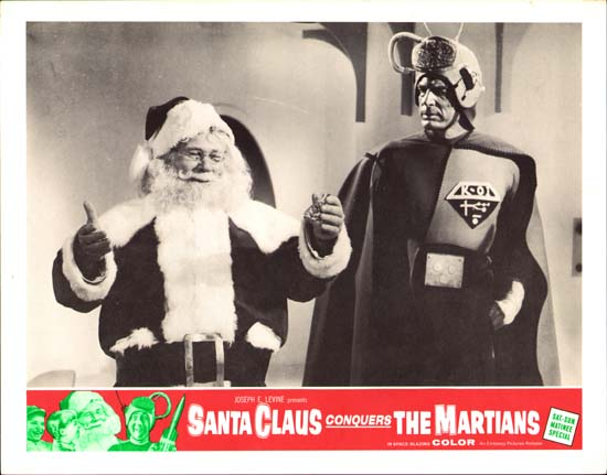 Santa Claus Conquers the Martians US Lobby Card