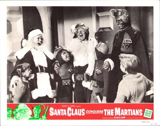 Santa Claus Conquers the Martians US Lobby Card