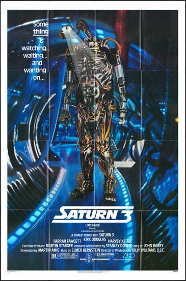 Saturn 3 US One Sheet movie poster