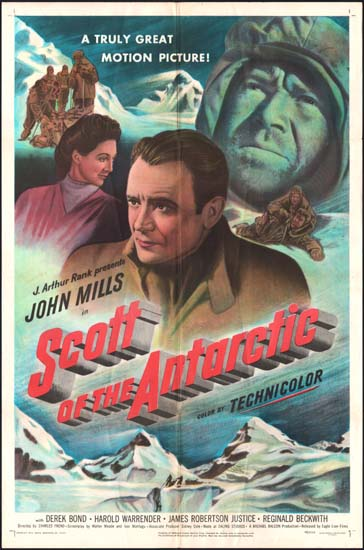 Scott of the Antarctic US One Sheet movie poster