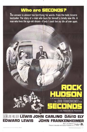 Seconds US One Sheet movie poster