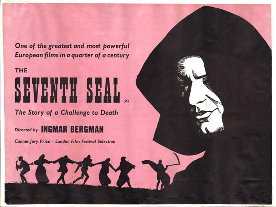 Seventh Seal, The GB Quad movie poster