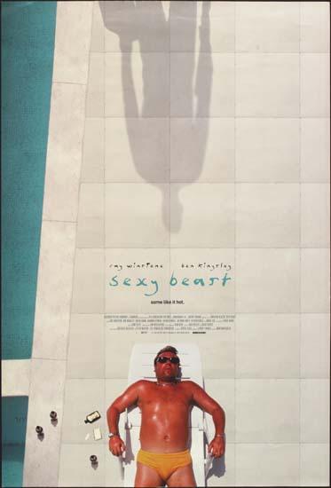 Sexy Beast UK One Sheet movie poster