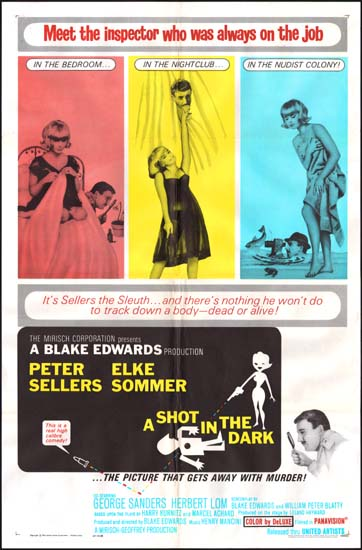 Shot in the Dark, A US One Sheet movie poster